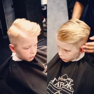 Постричь сына
